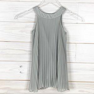 H&M Size 2-3 Permanent Press Gray Dress